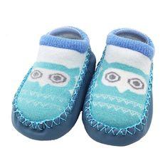 7bb41f59369 Socks Baby Winter Kids Newborn Animals Anti Slip Warm Slipper Socks for  Girl Boys Calcetines Collant Fille Skarpetki 18Sep27