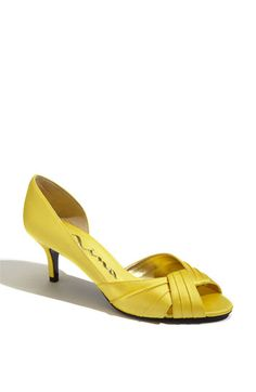 yellow heel.