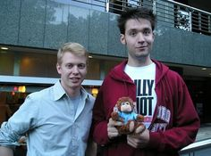 Steve Huffman and Alexis Ohanian, founders of Reddit