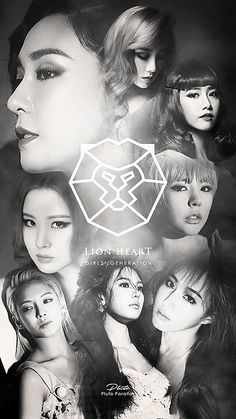 Snsd Lion Heart Logo