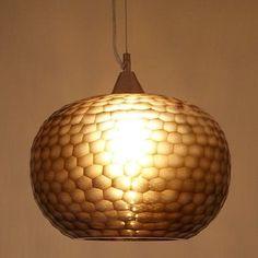 NEW John Lewis Ophira Ceiling Pendant Light Hand Blown Glass, Natural. RRP £160