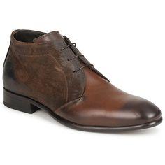 Boots Doucal's PARIGI Marron - Livraison Gratuite avec Spartoo.com ! - Chaussures Homme 171,00 €
