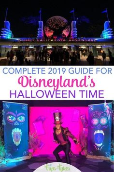 Visiting Disneyland during the Halloween season? A complete guide and tips for Halloween Time and Oogie Boogie Bash - the brand new 2019 Halloween party. Travel Tips Tips Travel Guide Hacks packing tour Disneyland Halloween, Mickey Halloween Party, Halloween Season, Disney Cruise Tips, Disney Vacations, Disney Travel, Family Vacations, Cruise Vacation, Vacation Destinations