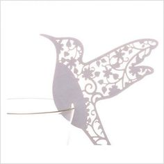 Hummingbird Laser cut Paper Glass Toppers for weddings South Africa - Polkadot Box Laser Cut Paper, Wedding Decorations, Table Decorations, Laser Cutting, Hummingbird, Wedding Accessories, Wedding Table, South Africa, Moose Art