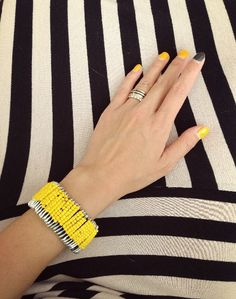 Items similar to customizable glass bead bracelet , Safety Pin Bracelet , Chunky bracelet , bright yellow bracelet on Etsy Plus Size Beach Wear, Safety Pin Bracelet, Bright Yellow, Glass Beads, My Etsy Shop, Wedding Inspiration, Beaded Bracelets, Trending Outfits, Unique Jewelry