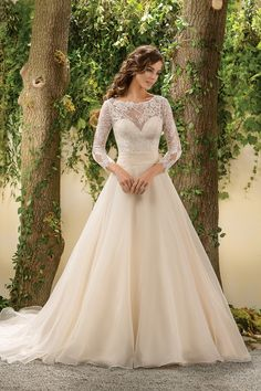 Wedding gown by Jasmine Collection