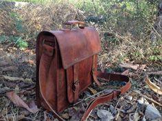9fe38d42af Genuine Men s Auth Real Leather Messenger Laptop Briefcase Satchel Mens Bag  by True Grit Leather
