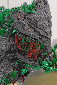 Lego Fanwelt Cologne Germany 2012. Like  the flowering vines.