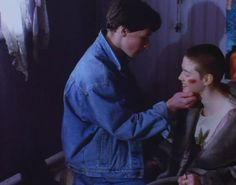 James McAvoy as Kevin in his first acting experience in 'The Near Room'. (1995)