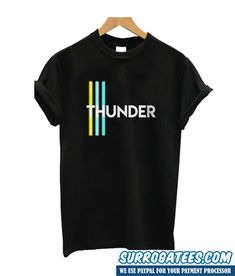 Do You Looking for Comfort Clothes? Thunder T Shirt is Made To Order, one by one printed so we can control the quality. Cute Tshirt Designs, New T Shirt Design, Shirt Print Design, Cheap Shirts, Boys T Shirts, Cool Shirts, Tee Shirts, Mens Fashion Wear, Trend Fashion