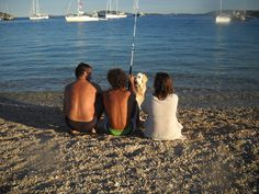 My great family :-) With Dario, Elena ad Rafa the dog!