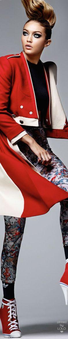 Gigi Hadid – Vogue China Magazine March 2016 | LOLO❤︎