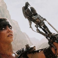 Mechanical VFX - Matt Boug ~ designed & built vehicles and props (including Imperator Furiosa's prosthetic arm) for Mad Max: Fury Road.