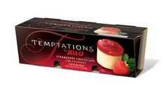 Strawberry cheesecake jello temptations are the best! <3