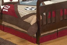 All Star Bed Skirt for Crib and Toddler Bedding Sets by JoJo Designs $29.99