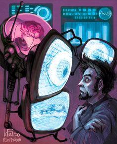 DR. DALA by Kate Pelto (kpelto-illustration); Doctor Dala, Fallout: New Vegas: Old World Blues