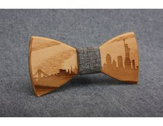 Wooden Bow Tie. PENGUIN Bow Ties by PenguinBowTie on Etsy