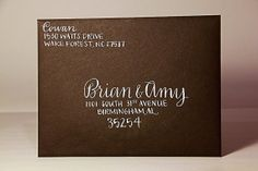 Calligraphy Envelope Addressing by ScriptAndSwash on Etsy, $50.00