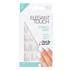 Totally Bare Square Manicure Nails | Press On Nails | Elegant Touch