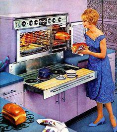 Lavender kitchen