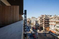 Great view from Hotel Rotonda Thessaloniki Thessaloniki, Great View, San Francisco Skyline, Exterior, Travel, Viajes, Destinations, Traveling, Outdoor Rooms