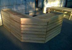 DIY Gorgeous Pallet Bar Table | Pallet Furniture DIY