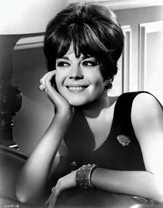 Natalie in a #blackandwhite still from #penelope #1966