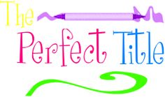Great titles for your scrapbook pages... for every event you could think of.