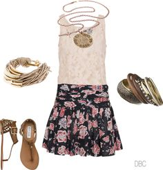 Girly Outfit.