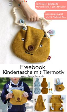 Sewing For Kids, Baby Sewing, Free Sewing, Diy For Kids, Cool Kids, Gifts For Kids, Sewing Hacks, Sewing Projects, Felt Crafts