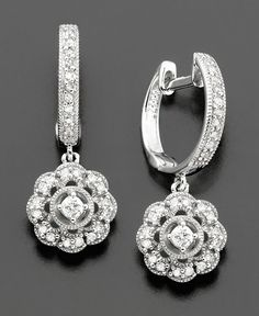 rounded diamond drops
