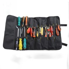Repairing Tool Utility Bag Canvas Chisel Multi Functional Bag With Handle New #Unbranded