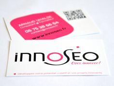 INNOSEO Identité graphique : logo et carte de visite