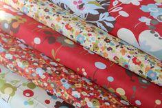 ON SALEModa Momo Wonderland   Tweedle Dum  fabric by janeymacshop