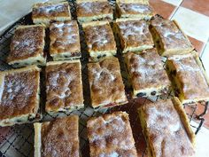 Recipes from a Cornish Kitchen: Paradise Cakes Another lovely recipe from the Lad. Cantaloupe Recipes, Radish Recipes, Tray Bake Recipes, Baking Recipes, Cake Recipes, Baking Ideas, Yummy Treats, Yummy Food, Tasty