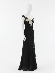Coco Chanel dress ca. 1937-1938 via The Costume Institute of the Metropolitan Museum of Art