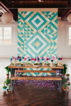 SarahParkDesigns - Ceremony backdrop