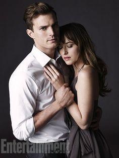 Entertaiment weekly 22 de noviembre del 2013: Jamie Dornan y Dakota Jhonson como Christian Grey y Anastasia Steele
