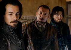 The Dauphin might be my son... IS my son. The Musketeers 2x09 Aramis Treville Athos