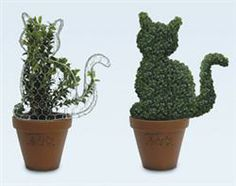 Topiary Animal Forms | CS/6 CAT TOPIARY SHAPE