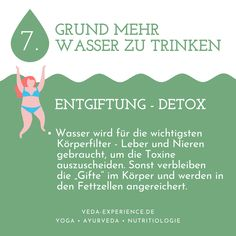 Wasserkur mit HydraMax Ayurveda, Lunge, Fett, Water Cycle, Detox Waters, Drinking Water, Life