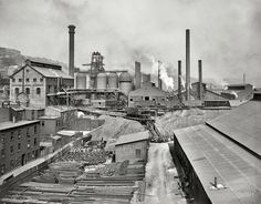 NATONAL TUBE WORKS - 1910  McKeesport, Pennsylvania