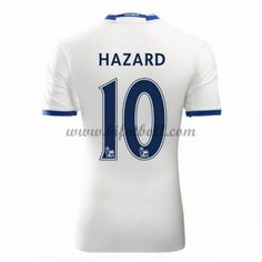Billiga Fotbollströjor Chelsea 2016-17 Hazard 10 Kortärmad Tredje Matchtröja