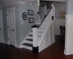 Mix of wainscotting and beadboard