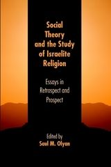 Social Theory and the Study of Israelite Religion: Essays in Retrospect and Prospect ~ lyan, Saul M. ~Society of Biblical Literature ~ c2012