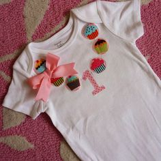 Party like its your Birthday Cupcake Necklace Shirt / Onesie - LoveItSoMuch.com