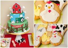 Our Big Red Barn Party: The Treats