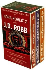 JD Robb IN DEATH Series most awesome sseries if you like slightly futuristic and awesome storylines.