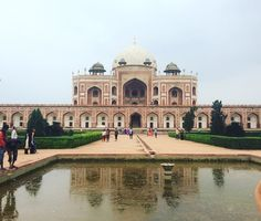 Humayun's Tomb Delhi India // photo credit: Brooke Wayment