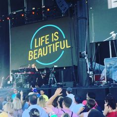 Pretty cool when a band you dig doesn't play a single song you love/know and it's still awesome. Great energy. Happy birthday Sam. Awesome way to kick off  #lifeisbeautiful #lifeisbeautiful2015 #lifeisbeautifulfestival #vegas #lasvegas @downtownprojlv #musicislife #musicfestival #concerts